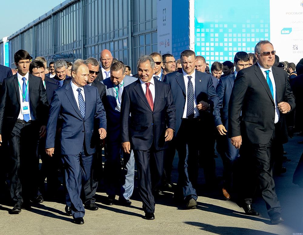 В.В.Путин на МАКС-2015